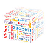 Box with business words Royalty Free Stock Photo