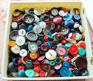 Box with buttons Royalty Free Stock Image