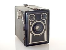 Box Camera. Vintage box camera Stock Image
