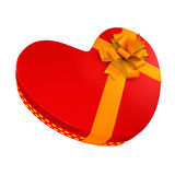 Box with candies to the Valentine's Day Royalty Free Stock Photography