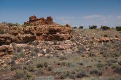 Box canyon ruins Royalty Free Stock Photos