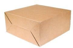 Box of cardboard Stock Photo
