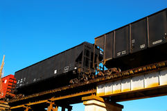 Box cars Royalty Free Stock Photos