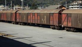 box cars Royalty Free Stock Image
