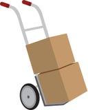 Box Cart Royalty Free Stock Images