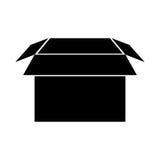 Box carton packing icon Royalty Free Stock Photos