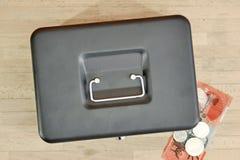 box cash стоковые изображения rf