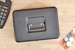 box cash стоковая фотография
