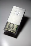 Box with cash Royalty Free Stock Photo