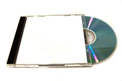 Box with cd Stock Image