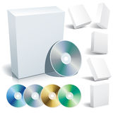 Box and cd Stock Photos