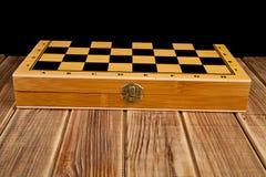 Box of chess Stock Photos