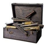 Box of chisels Stock Image