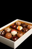 A box of chocolate. Stock Photos