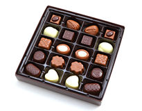 Box of chocolate Stock Photography