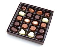 Box of chocolate Stock Photography