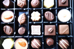 A box of chocolate Stock Image