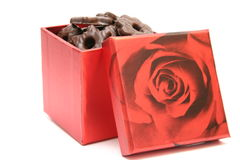 Box of chocolates Stock Image