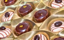 Box of chocolates. With many variations Royalty Free Stock Photo