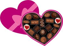 Box of Chocolates Royalty Free Stock Images