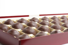 Box of Chocolates candy Royalty Free Stock Photography