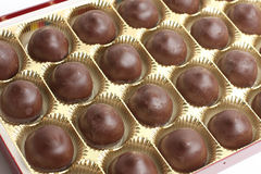Box of Chocolates candy Royalty Free Stock Photo