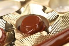 Box of chocolates. Close up. Stock Images