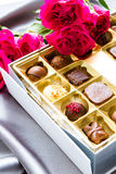 Box of chocolates Stock Photo