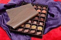 box choklader Arkivbild