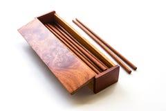 Box of chopsticks Royalty Free Stock Image