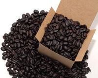 Box of Coffee Royalty Free Stock Photography