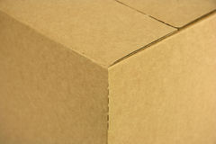 Box corner. A box corner royalty free stock photography