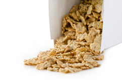 Box of cornflakes. Stock Photography
