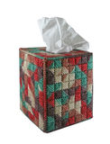 box cover tissue Στοκ Φωτογραφία
