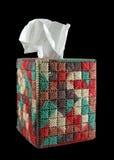 box cover tissue Στοκ φωτογραφίες με δικαίωμα ελεύθερης χρήσης