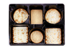 Box of Crackers Stock Image