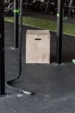 Box on crossfit zone Stock Images