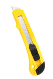 Box Cutter Utility Knife Over White Stock Photography