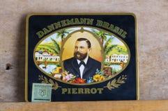 Box of Dannemann Cigars stock photos