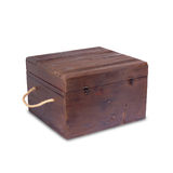 Wooden decorative box Royalty Free Stock Images