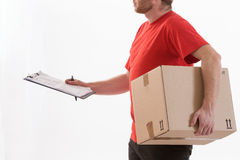 Box delivery services Stock Photography