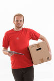 Box delivery services Stock Photo