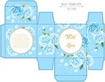 Box design, die-stamping Royalty Free Stock Images