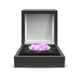 Box for diamond Royalty Free Stock Images