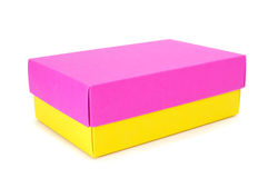 Box of different colors Royalty Free Stock Photos