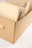 A box of document Stock Photography