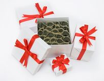 Box with  dollars Royalty Free Stock Image