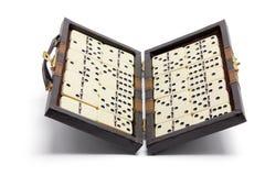 Box of Dominoes Royalty Free Stock Photo
