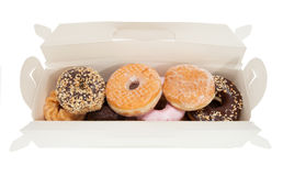 Box of Donuts Stock Image