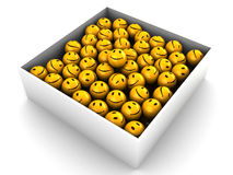 Box of emotions Royalty Free Stock Photography